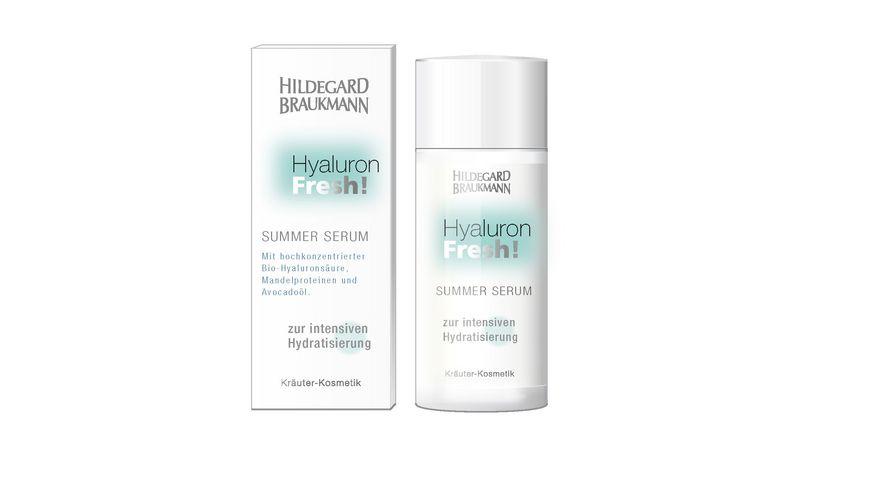 HILDEGARD BRAUKMANN Hyaluron Fresh Summer Serum