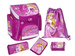 Scooli Disney Princess Campus Plus Schulranzenset 5 teilig