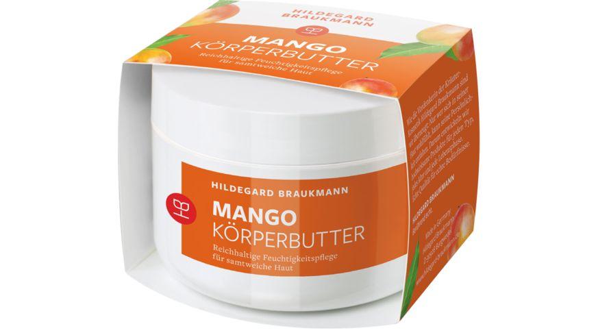 HILDEGARD BRAUKMANN Mango Butter