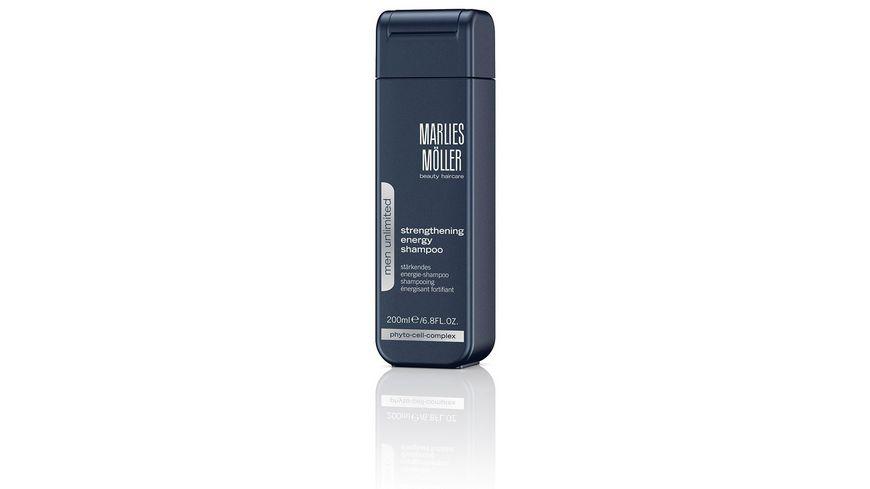 MARLIES MOeLLER MEN UNLIMITED Strengthening Energy Shampoo