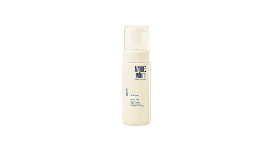 MARLIES MOeLLER VOLUME Liquid Hair Keratin Mousse