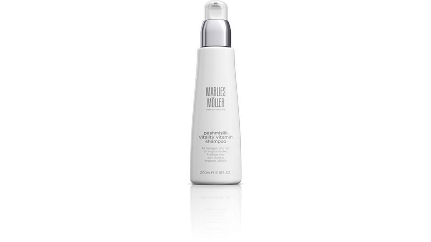 MARLIES MOeLLER PASHMISILK Vitality Vitamin Shampoo