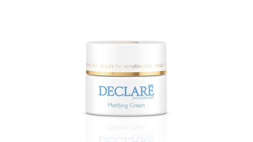 DECLARE PURE BALANCE Matifying Cream