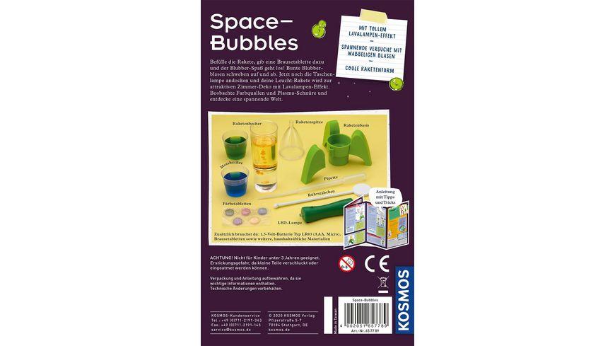 KOSMOS Mitbringexperimente Space Bubbles