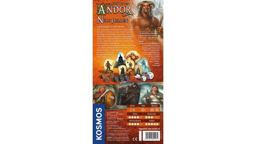 KOSMOS Die Legenden von Andor Neue Helden Erweiterung