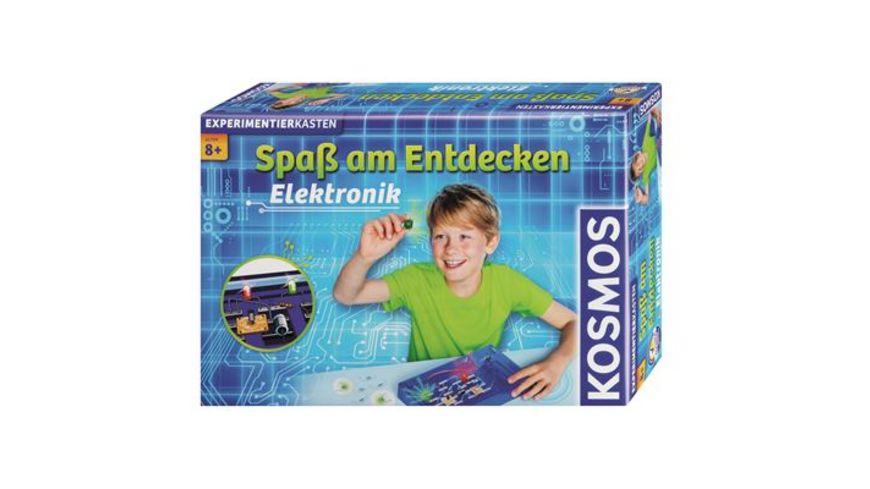 KOSMOS Experimentierkaesten Elektronik Spass am Entdecken