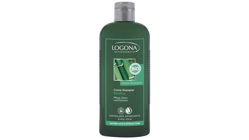LOGONA Seidig Glatt Shampoo Bambus