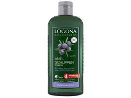 LOGONA Anti Schuppen Shampoo Bio Wacholderoel