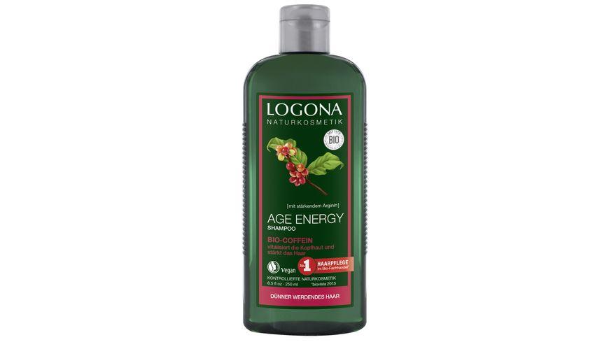 LOGONA Age Energy Shampoo Bio Coffein