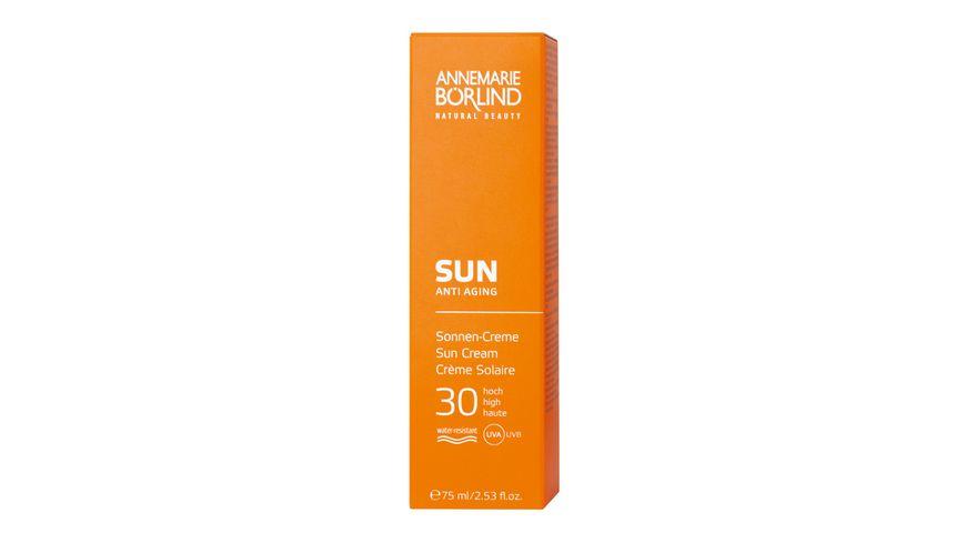 ANNEMARIE BOeRLIND Sun Sonnen Creme LSF 30