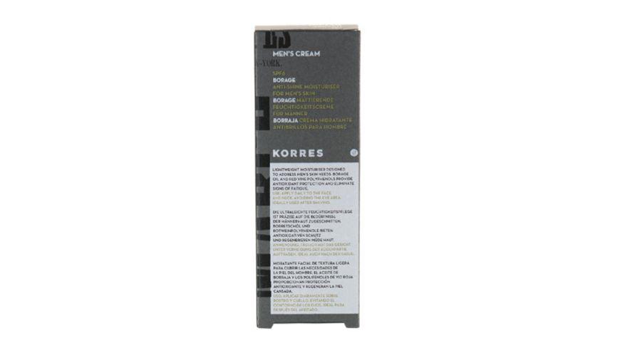 KORRES Borage Mattierende Feuchtigkeitscreme SPF 6