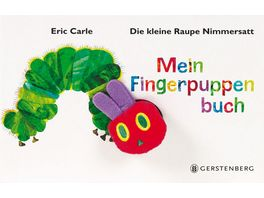 Buch Gerstenberg Raupe Nimmersatt Fingerpuppenbuch
