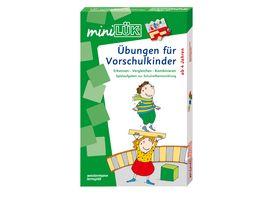 Buch Westermann miniLUeK Set Uebungen fuer Vorschulkinder