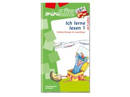 Buch Westermann miniLUeK Ich lerne lesen 1