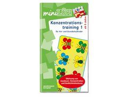 Buch Westermannn miniLUeK Konzentrationstraining 1