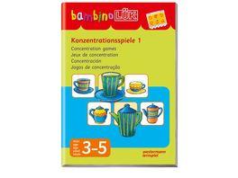 Buch Westermann bambinoLUeK Konzentrationsspiele 1