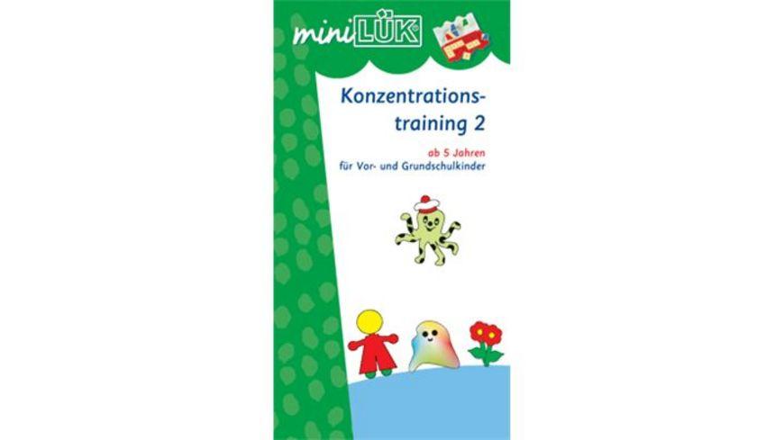 MiniLUeK Konzentrationstraining 2