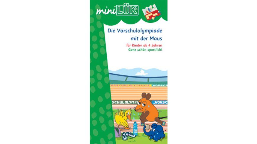 miniLUeK Die Vorschul Olympiade mit der Maus