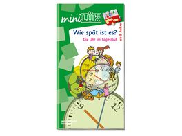 Buch Westermannn miniLUeK Wie spaet ist es Die Uhr im Tageslauf