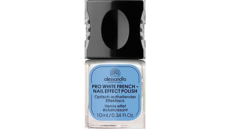 alessandro Pro White French Nagellack
