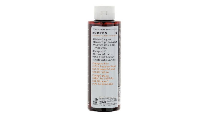 KORRES Sunflower Mountain Tea Shampoo