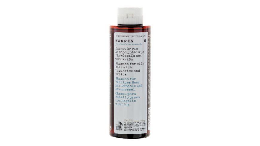KORRES Liquorice Urtiqua Shampoo