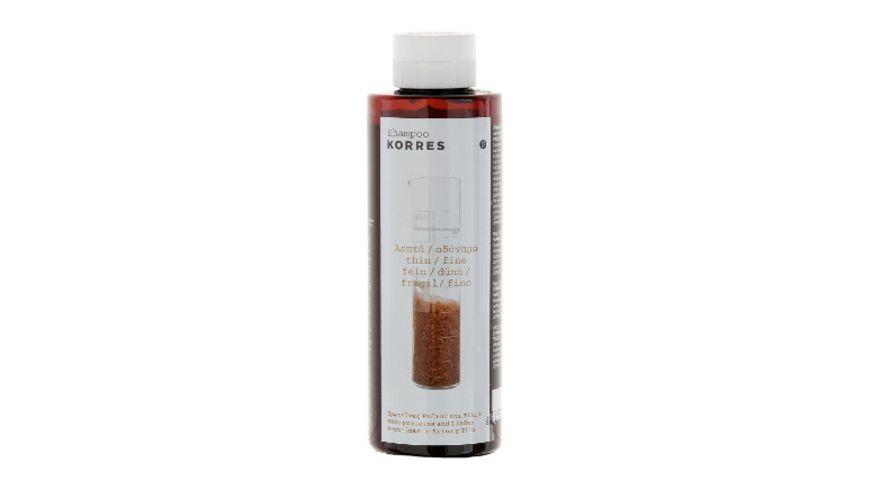 KORRES Rice Proteins Linden Shampoo