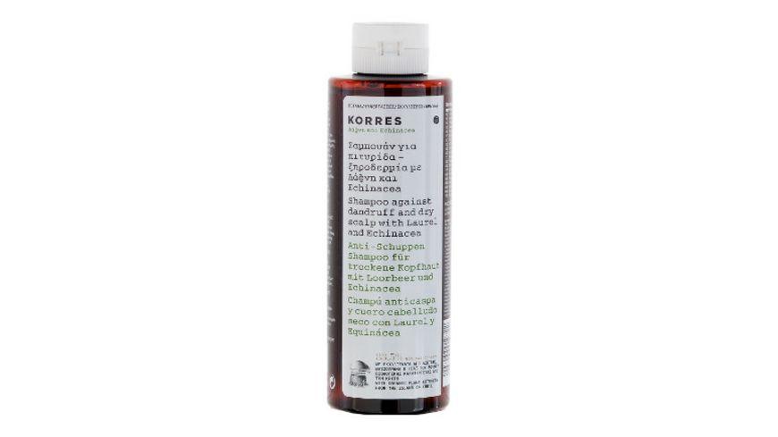 KORRES Laurel Echinacea Anti Schuppen Shampoo