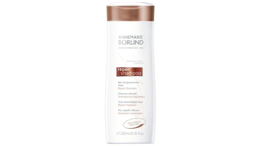 ANNEMARIE BOeRLIND Seide Natural Hair Care Repair Shampoo