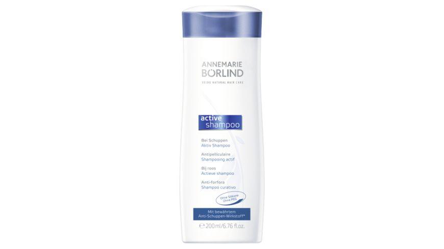 ANNEMARIE BÖRLIND SEIDE NATURAL HAIR CARE Activ Shampoo
