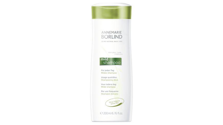 ANNEMARIE BOeRLIND SEIDE NATURAL HAIR CARE Mildes Shampoo