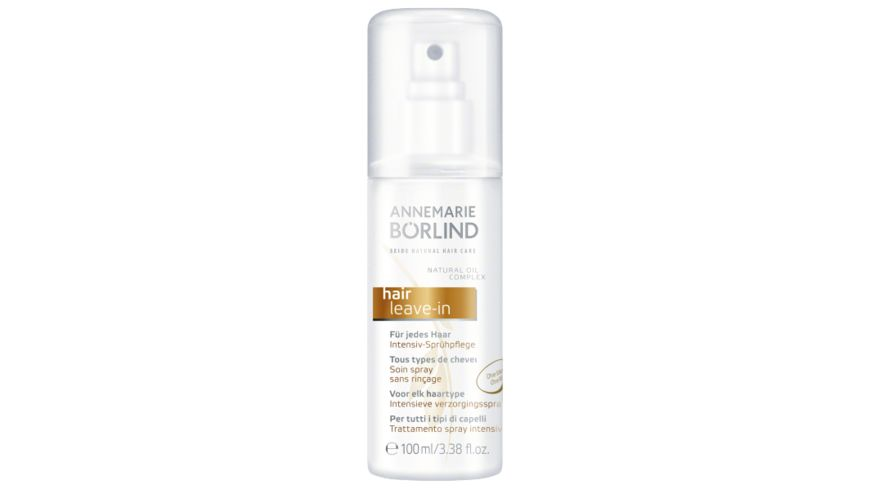 ANNEMARIE BOeRLIND SEIDE NATURAL HAIR CARE Spruehpflege