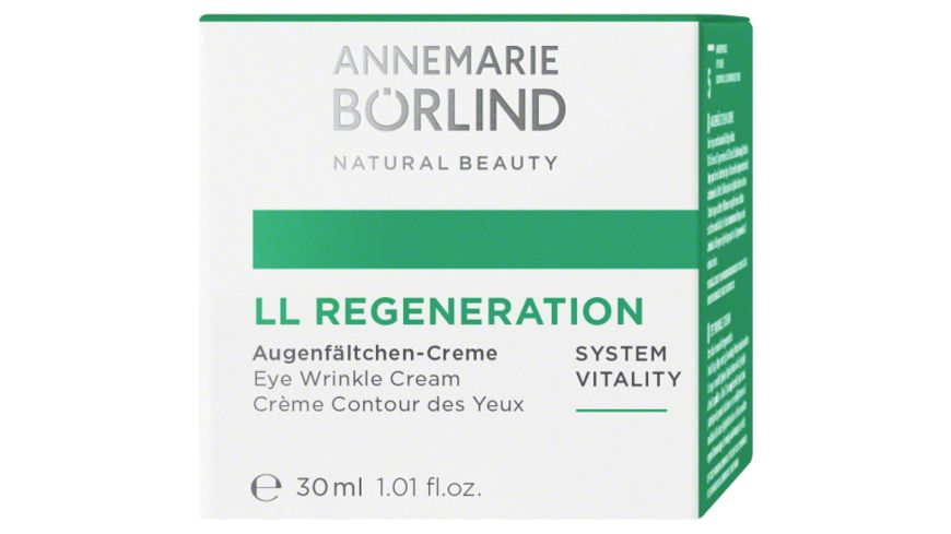 ANNEMARIE BOeRLIND LL Regeneration Augenfaeltchen Creme
