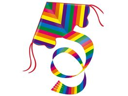 Guenther Flugmodelle Einleinerdrachen Rainbow
