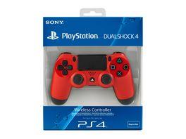 Wireless Controller Dualshock Rot Playstation 4