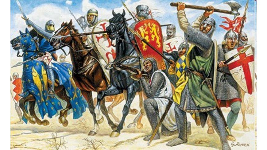Italeri 6009 Figuren 1 72 Die Kreuzritter 11 Jahrhundert