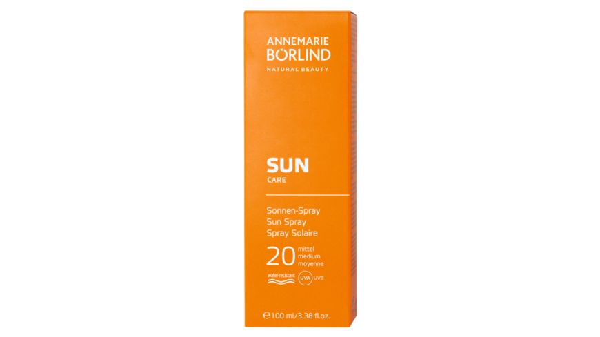 ANNEMARIE BOeRLIND SUN CARE Sonnen Spray LSF 20