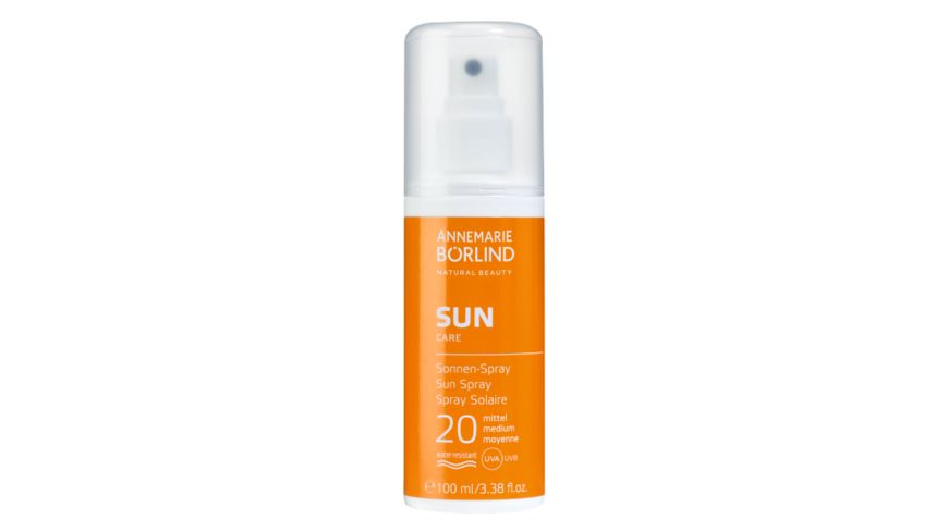 ANNEMARIE BOeRLIND Sun Sonnen Spray LSF 20