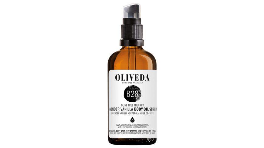 OLIVEDA Körperöl Lavendel/Vanille