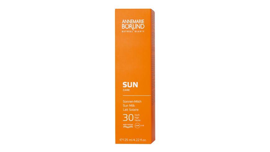 ANNEMARIE BOeRLIND Sun Sonnen Milch LSF 30