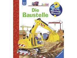 Ravensburger Wieso Weshalb Warum Junior Die Baustelle