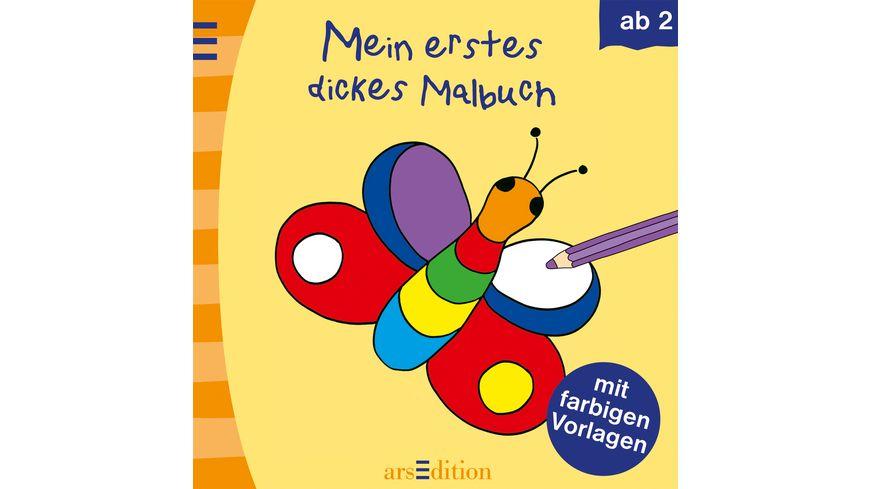 Buch Ars edition Mein erstes dickes Malbuch