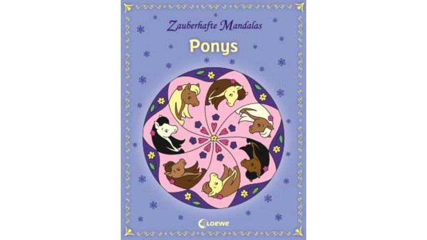 Buch Loewe Zauberhafte Mandalas Ponys