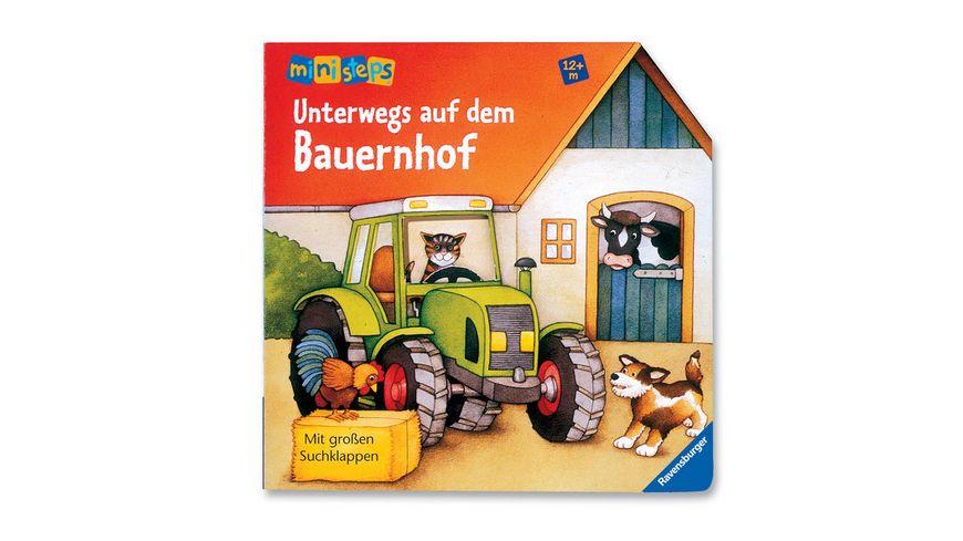 Ravensburger Buch ministeps Bilderbuch Unterwegs auf dem Bauernhof
