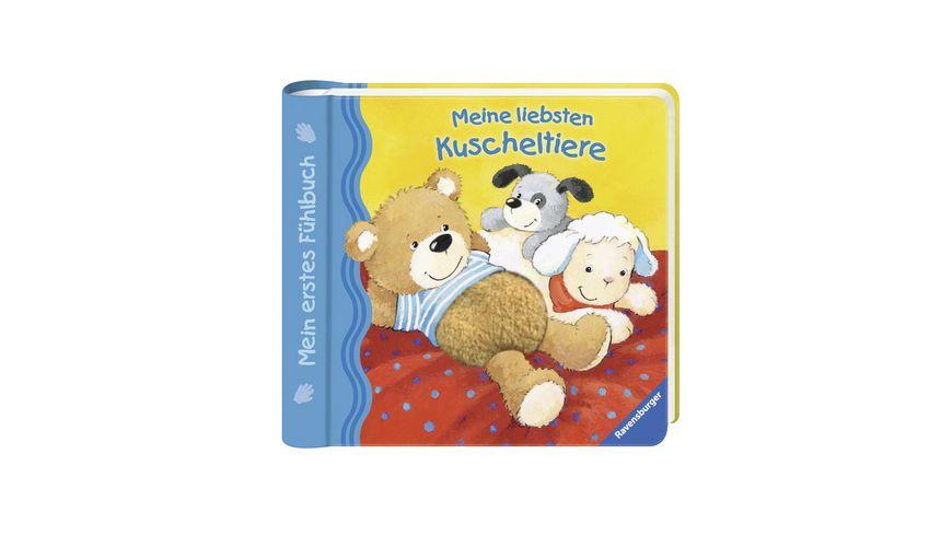 Ravensburger Mein erstes Fuehlbuch Meine liebsten Kuscheltiere