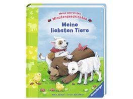 Ravensburger Meine allerersten Minutengeschichten Meine liebsten Tiere