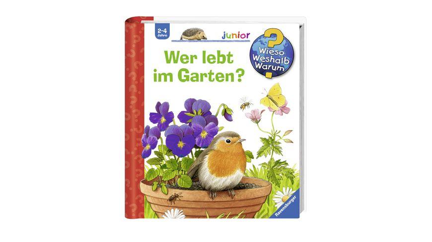 Ravensburger Buch Wieso Weshalb Warum Junior Wer lebt im Garten