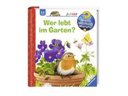 Buch Ravensburger Buch Wieso Weshalb Warum Junior Wer lebt im Garten