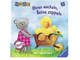 Ravensburger Buch ministeps Ohren wackeln Beine zappeln