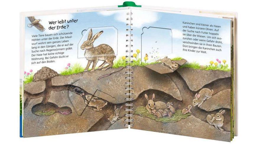 Ravensburger Wieso Weshalb Warum Junior Wo die Tiere wohnen